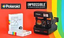 Sofortbild Kamera Polaroid 670 AF + 2 x 660  Color IMPOSSIBLE Instant FILM