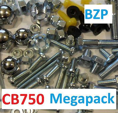 Honda Dax BZP Castle Nut Pack