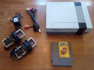 Nintendo-Nes-Console-System-Super-Mario-Bros-3-Original-OEM-Polished-72-Pin
