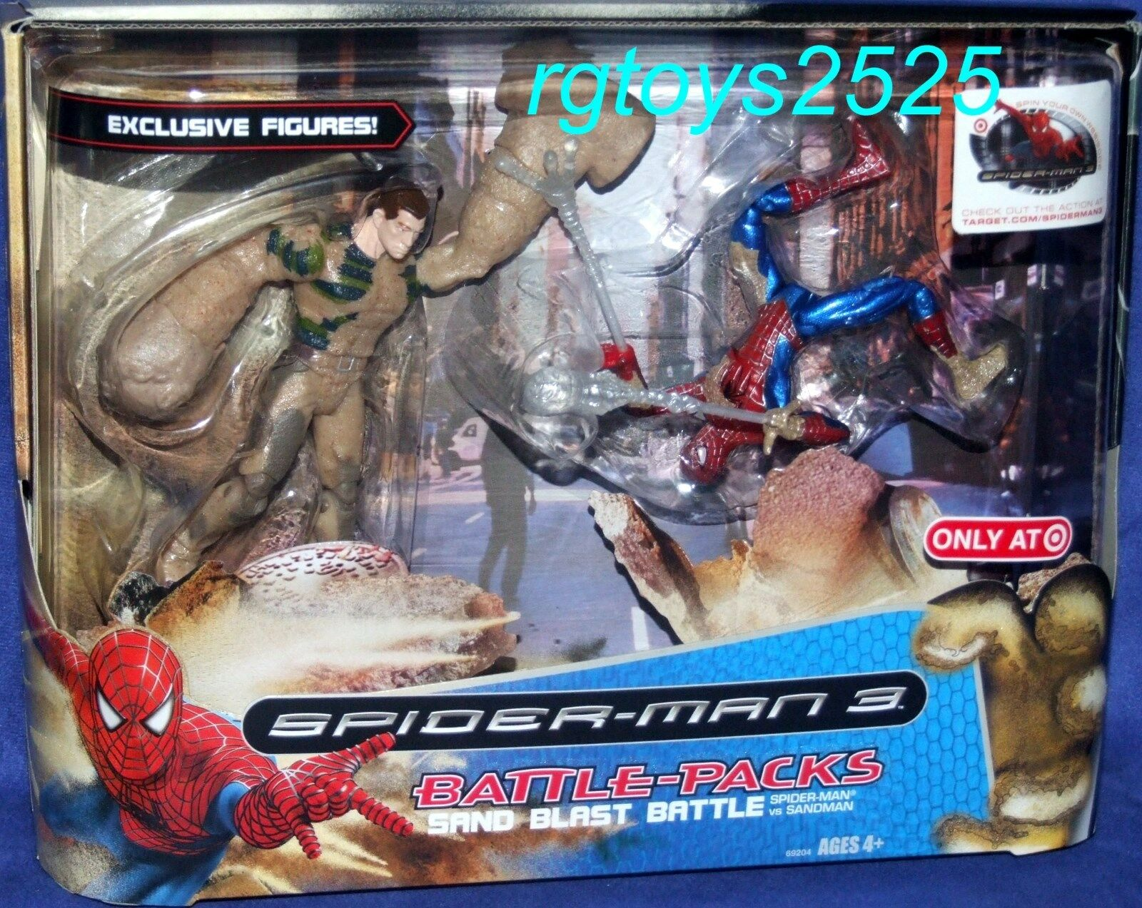Spiderman 3 Movie Sand Blast Battle EXCLUSIVE 5