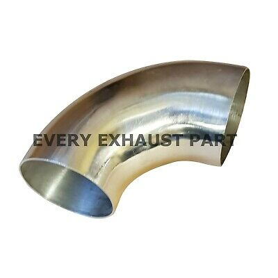 """50mm 2/"""" Inch Stainless Steel 90 Degree 1D bend 304 grade polished"""