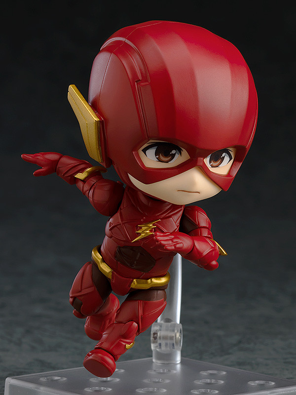Authentic  917 Nendoroid The Flash Justice League Action Figure Good Smile