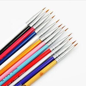 12pc-diminuto-Gel-UV-Acrilico-Arte-en-Unas-Puntas-Salon-Dibujo-Boligrafo-Cepillo-de-pintura