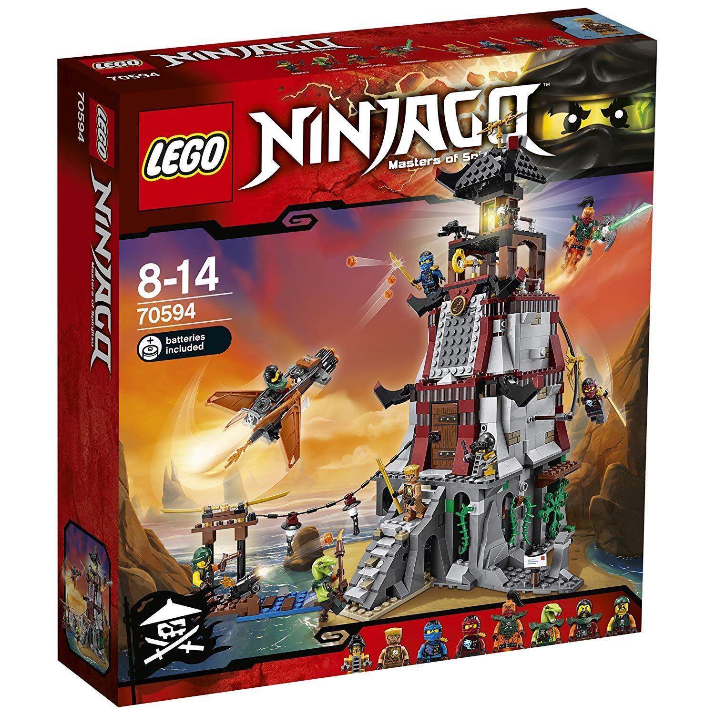 Lego ® 70594 Ninjago leuchtturmbelagerung nuevo embalaje original New Sealed