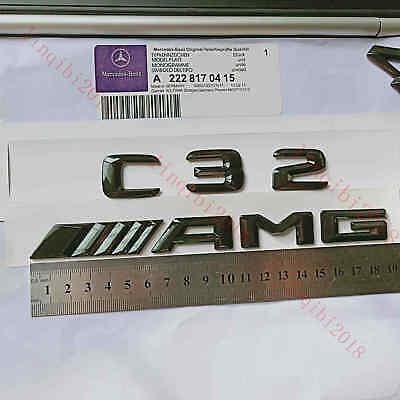 Gloss Black 3D Number Letters Rear Trunk Badge Emblem for Mercedes Benz SL63 AMG