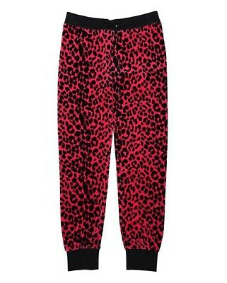 412e4094a60d Details about Juicy Couture Cordial Red Uptown Leopard Print Slim Pants -  BNWT £120 - Size XL