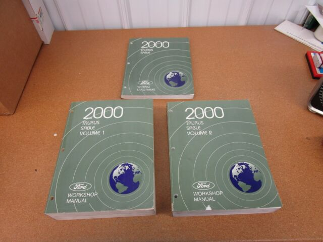 2000 Ford Taurus Mercury Sable Service Shop Wiring