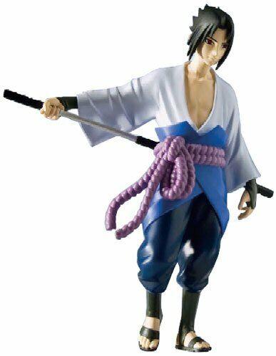 "Toynami 2002 Shonen Jump Naruto Shippuden Series 3 SASUKE 6/"" Anime Figure NEW"