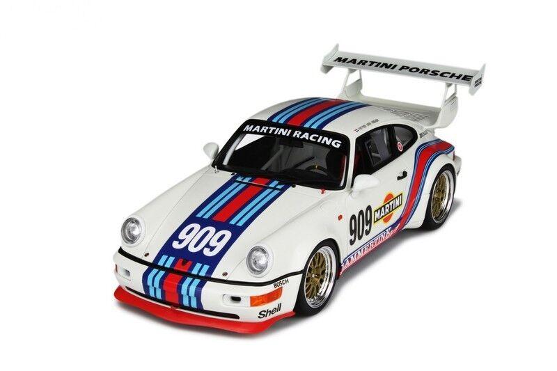 GT SPIRIT 1990 PORSCHE 911 964 RSR Martini Blanc  909 1 18  Dernier