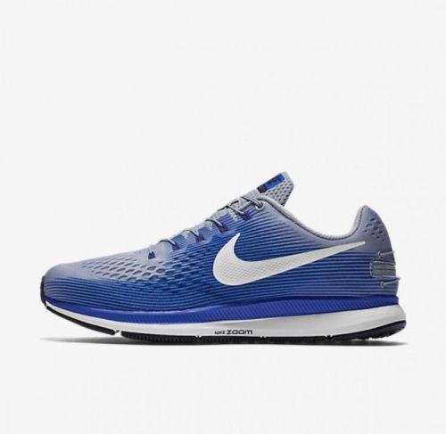 timeless design 8e188 da8b1 Nike Air Zoom Pegasus 34 Flyease Wolf Grey/blue Running Shoes Size 11