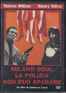 MILANO-ODIA-La-Polizia-Non-Puo-Sparare-DVD-Come-Nuovo-Ancora-Sigillato-Edit