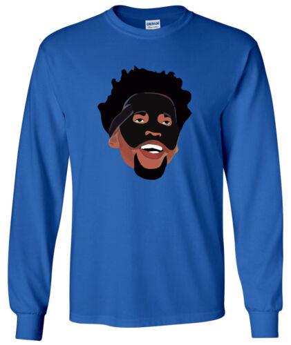 "Philadelphia 76ers Trust the Process Joel Embiid /""Black Mask/"" T-Shirt"