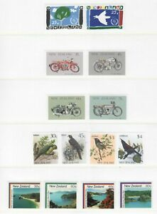 S34758-New-Zealand-1986-MNH-Complete-Year-Set-NO-S-S-2-Scans