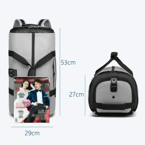 Ultimate Multi-functional Travel Bag For Business Travelers-stylish /& Waterproof