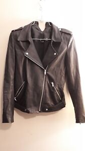 Theyskens Theory Nomi Jiker Leather Jacket Ebay