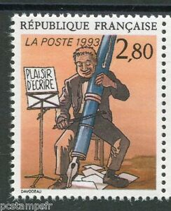 FRANCE, 1993, timbre 2841, E. DAVODEAU, BD, PLAISIR ECRIRE neuf**