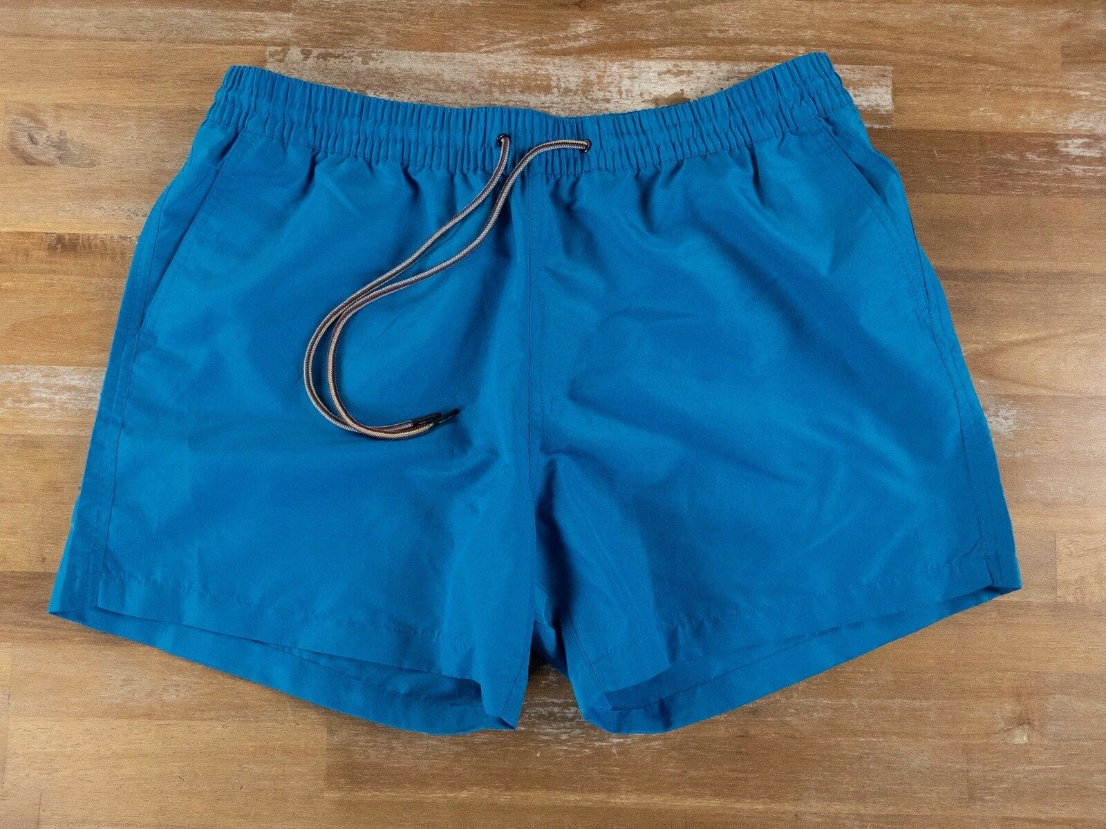 PAUL SMITH solid bluee swim shorts authentic - Size XL - NWOT