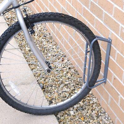 Schietto Silverline Bicicletta Pavimento Parete Stand Rack Parcheggio Blocco Ferroviario- Facile Da Usare