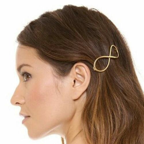 Frauen Geometrische Haarspange Haarspange Sterne Haarnadel Party Haarschmuck