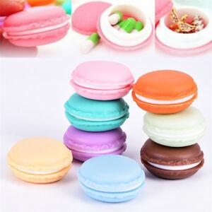 Macaron-Mini-Boite-De-Rangement-Bijoux-Pill-Case-Container-Candy-Colo-RK