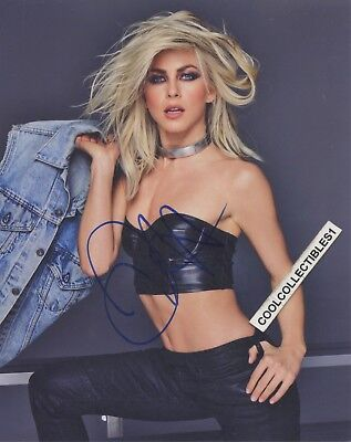 """Obedient Julianne Hough """"dancing With The Stars"""" Hand Signed 8x10 Color Photo 15 """"proof"""" Clearance Price Autographs-original Television"""