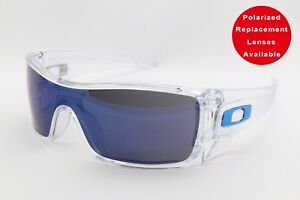 781a2d38ee1 Image is loading Oakley-BATWOLF-OO9101-07-Ice-Iridium-Sports-Surfing-
