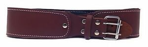 10-Pcs-Pack-Of-3-034-Natural-Leather-Foam-Padded-Belt-48-034-Length-Brown-Color