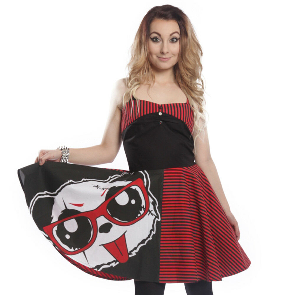 Killer Panda Kleid - Nana Dress