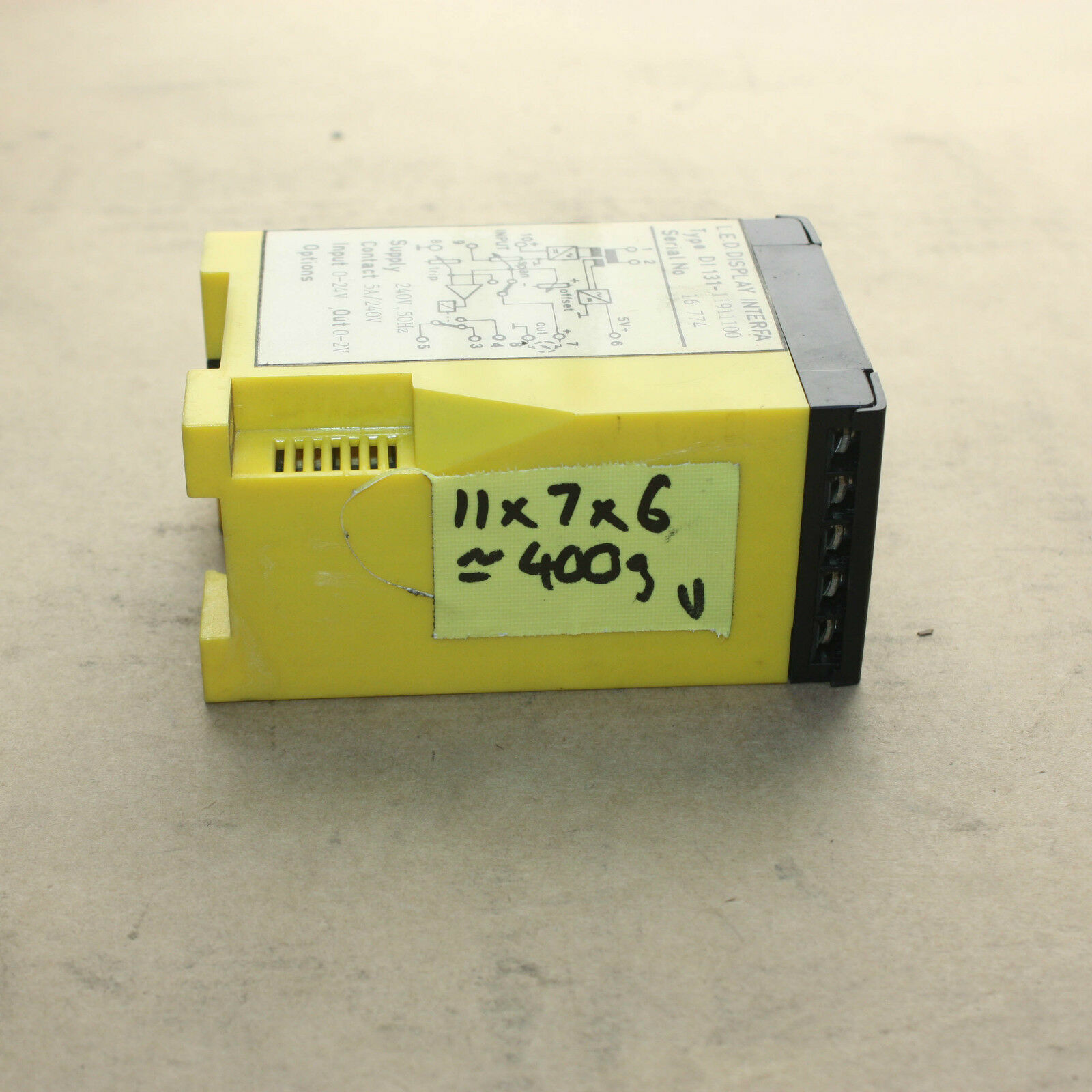 A.P.C.S.  LED display interface Type D1 131-11911100
