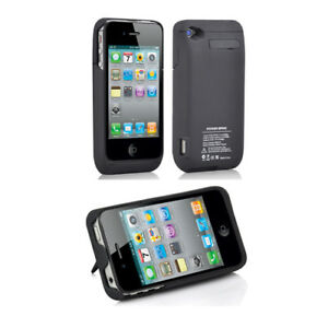 promo code a5e7d d191d Details about 3000mAh PORTABLE EXTERNAL POWER PACK BACKUP BATTERY CHARGER  CASE FOR iPhone 4 4S