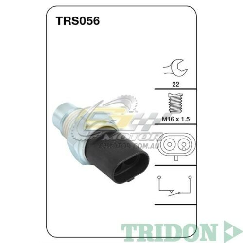 TRIDON REVERSE LIGHT SWITCH FOR HSV Maloo 10021204 5.7LLS1 CB4, Gen III