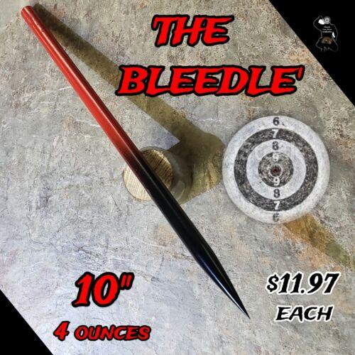 /'THE BLEEDLE/' RAZOR SHARP STEEL NINJA SPEAR TIP THROWING SPIKE  SELF DEFENSE
