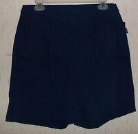 Womens Blassport Navy Blue Skort Size 10