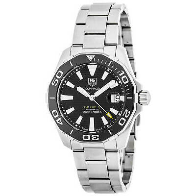 Tag Heuer Aquaracer Calibre 5 Black Dial Automatic Men's Watch WAY211A.BA0928