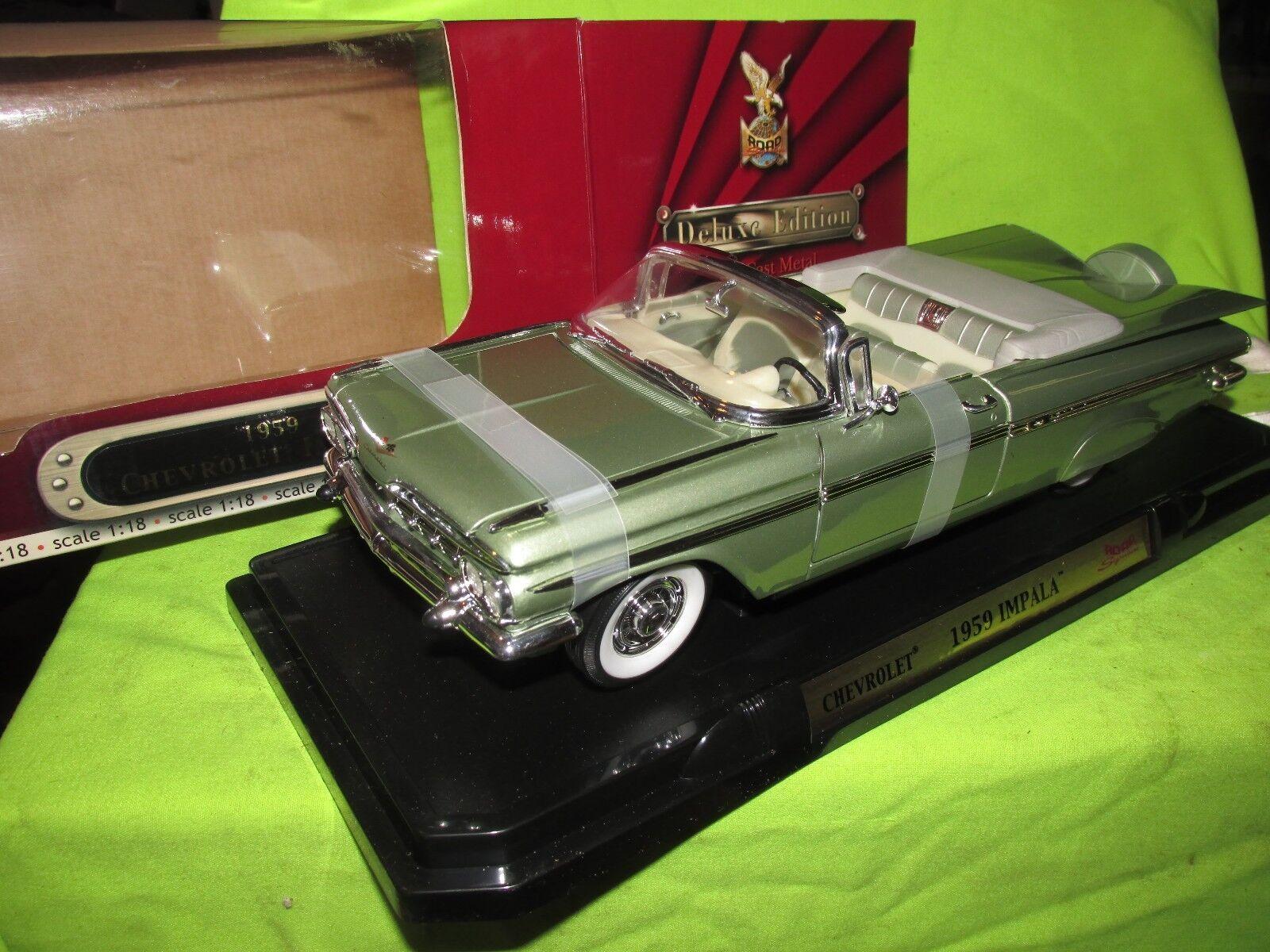 1959 Impala Cabriolet 1 18 ROAD SIGNATURE YAT MING Nice détail voir photos