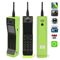 Classic Old Vintage Brick Cell Phone Dual-sim Gsm 850/900/1800/1900mhz Green