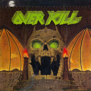 Overkill-The-Years-of-Decay-CD-2003-NEW-FREE-Shipping-Save-s
