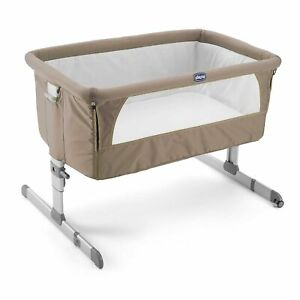 EX-DISPLAY-Chicco-Next-2-Me-Side-Sleeping-Crib-Dove-Grey