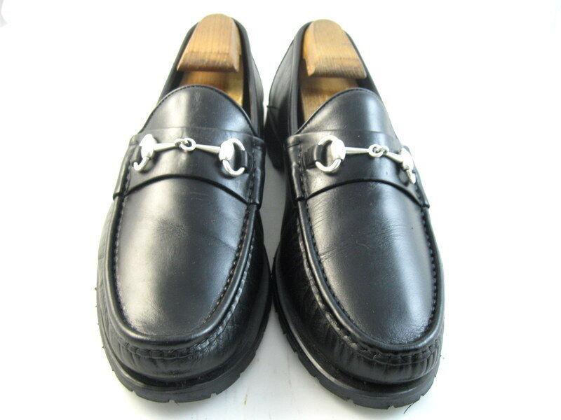 Allen Edmonds  AREZZO  italiano Mocasines Negro 9 D (729)