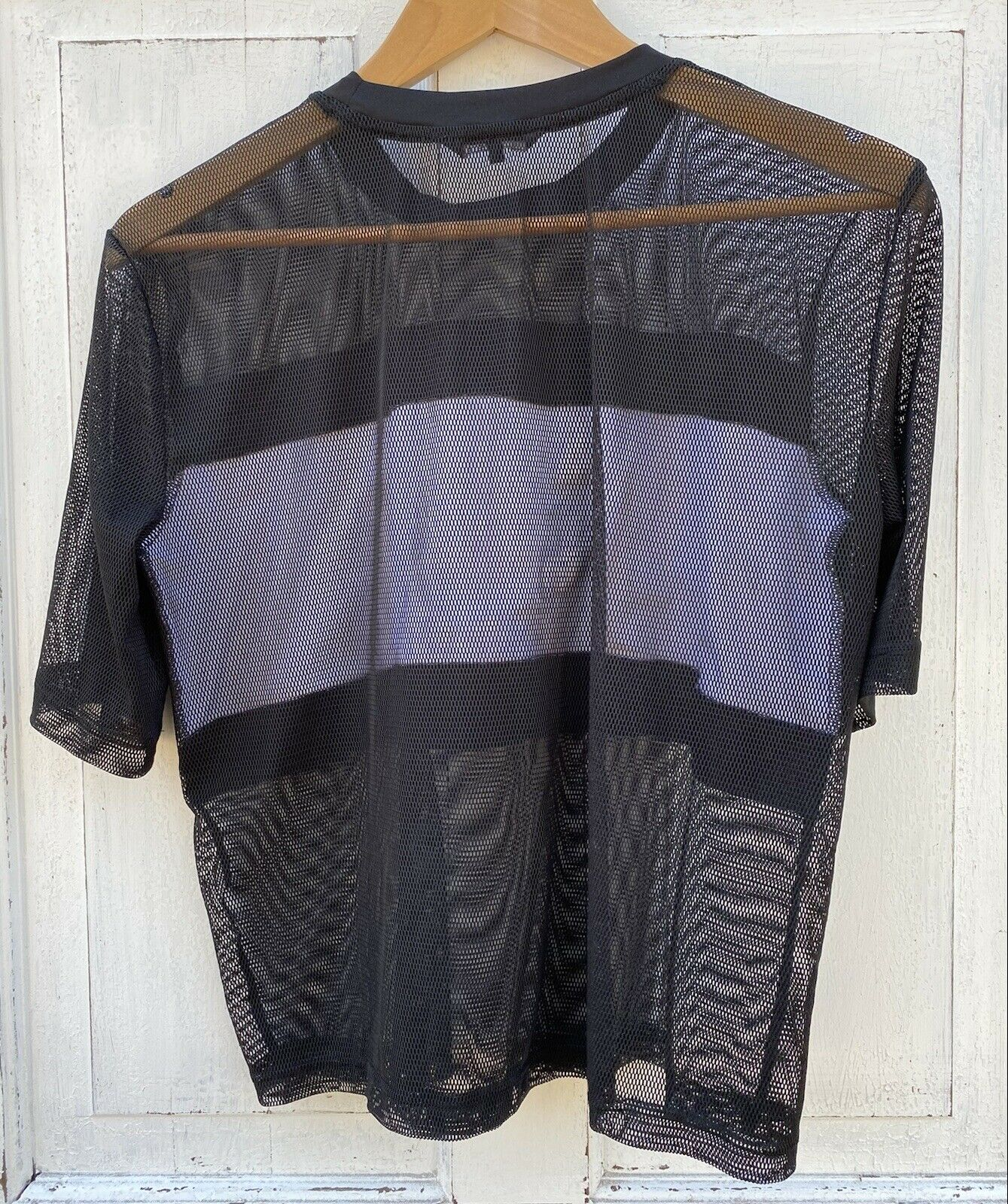Bebe Sport Black Mesh Shirt Althetic Wear Women's… - image 3