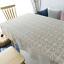 Vintage Hand Crochet Dentelle Napperon Table Nappe Couverture Prop Décoration 70 in environ 177.80 cm