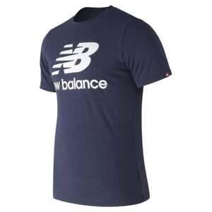 e0491d4b5b9f0 La imagen se está cargando New-balance-senores-Essentials -apilado-logo-T-Shirt
