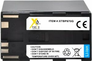 7800mAh Battery for Canon XF300 XF305 XH A1