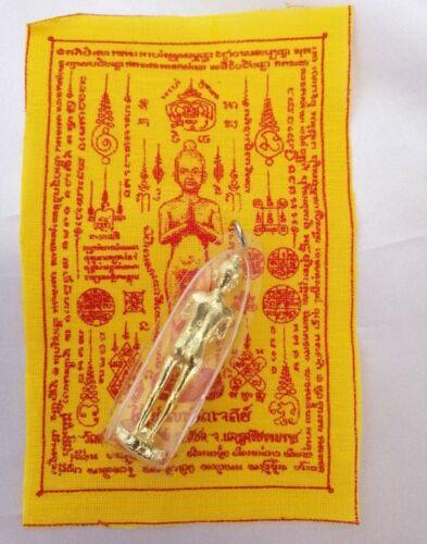 IKhi Kuman thong Gold Ghost Boy Free Pha Yant LP Holy Thai amulet  talisman