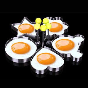 Spiegelei Braten edelstahl spiegelei formen eierform eier braten multi stile küche