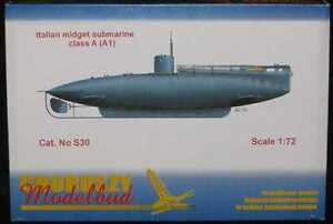 Unicraft Models 1//72 GRUNDHAI German WWII MIdget Submarine