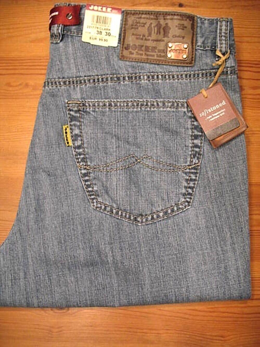 Jeans CLARK 2217 75  (comfort fit) clásico celeste JOKER hombres  al precio mas bajo