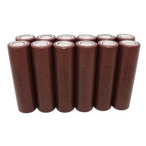 12X-Battery-18650-3000mAh-High-Drain-3-7V-Li-ion-INR-HG2-Rechargeable