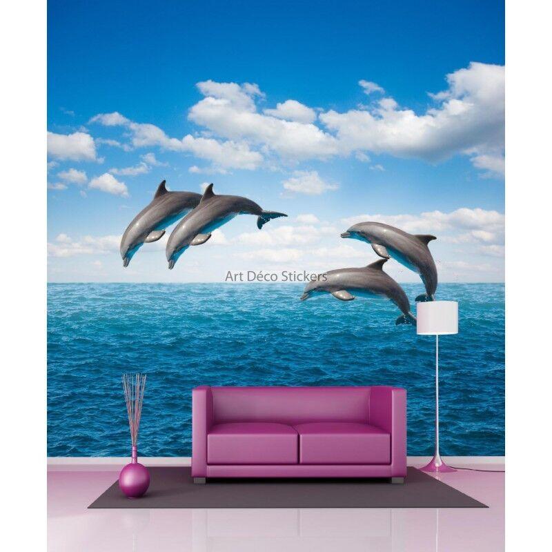 Carta Dipinto Gigante Delfini 11028 11028