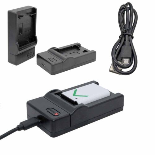 USB Battery Charger Fresh For Canon LP-E8 EOS 700D 550D 600D For AC Adapter